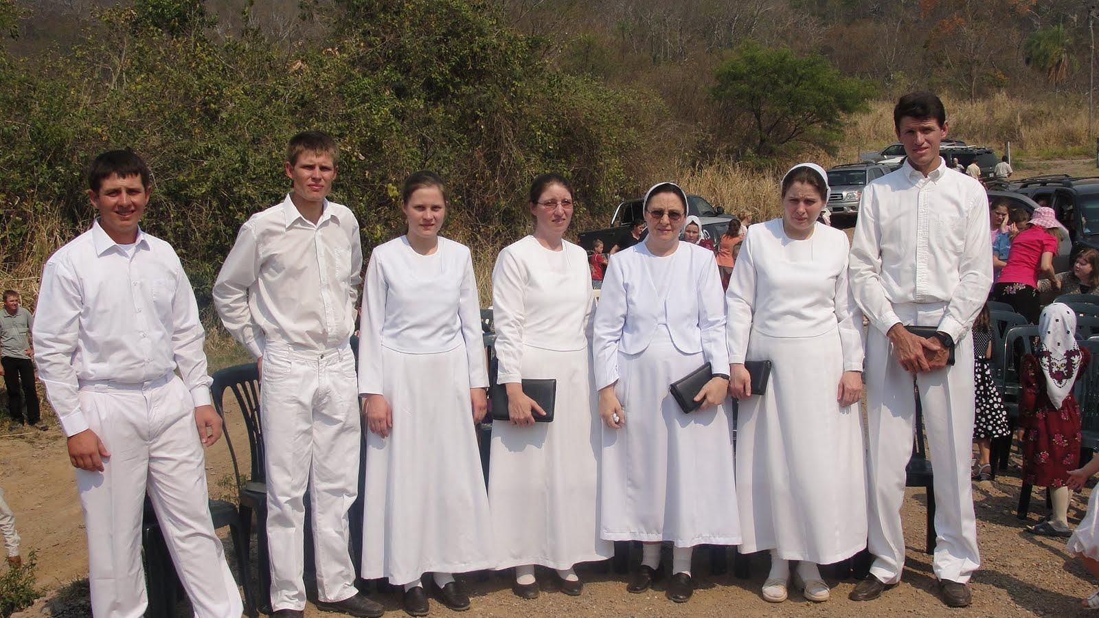 Taufe im Rio San Julian, San Ramon, Bolivien - Gemeinde Gottes Bolivia